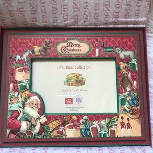"4"" x 6"" Christmas picture frame"
